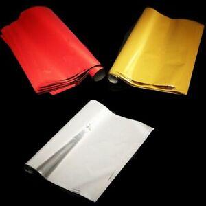 Foil Transfer A4 Sheets 50 Pcs Paper Laminating Craft Red Stamping Laser Printer