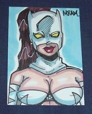 August 2012 MRAM Ava Ayala Avengers Academy Rare Stetch  Card