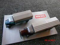 Wiking-Set MB-Lkw 10000 u. 2500 N-Spur 1:160 Nr. 90943 in Originalschachtel