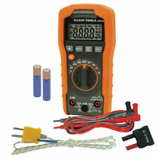 Klein Tools Mm400 600v Auto Ranging Digital Multimeter Nib Amp Free Shipping