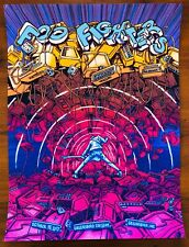 *Foo Fighters Greensboro Nc 8/15/17 Se Poster by James Flames *S/N #212/325*