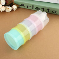 Chic Portable Baby Infant Feeding Milk Powder Food Bottle Container 4 Layers Box