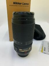 Nikon Zoom-NIKKOR 70-300mm f/4.5-5.6 M/A ED AF-S Lens
