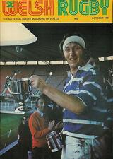 Welsh Rugby Magazine ottobre 1980, Ray gravell, Bridgend WIN Snelling Sevens