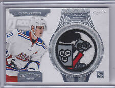13-14 Dominion Rookie Showcase Chris Kreider Knight's Logo Patch #KL-CK 1/1 SICK