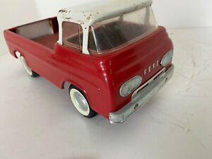 Nylint Original 1960's Red and White Ford Econoline Van Truck