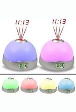 NEW UNUSUAL Kids Bedroom Nightlight Clock Alarm Cool Best Gifts for Girls Boys
