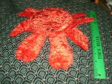 """Hand / Glove Puppet ~ RED CRAB ~ Plush ~ CALTOY ~ Approximately 11"""" ~ NEW"""