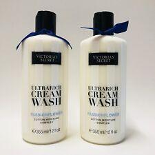 2 victoria's Secret ultrarich jabón líquido Pasiflora algodón Hidratante 12