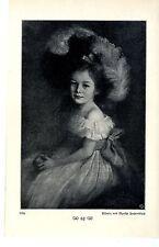 """Effigie di Martha heydenbluth """"Lilly"""" immagine documento del 1909"""
