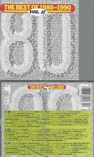CD--VARIOUS--BEST OF 1980-1990--VOLUME 2 | BOX-SET 3 CDS
