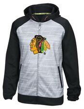 Chicago Blackhawks Reebok NHL 2016 Center Ice Speedwick Full Zip Sweatshirt