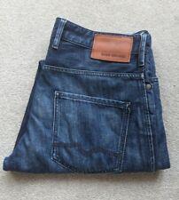 Men's Hugo Boss Orange 24 Barcelona Jeans W35 L32 Straight Leg Zip Fly
