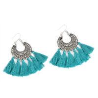 Fashion Bohemian Women's Vintage Long Tassel Fringe Boho Dangle Earrings