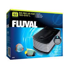 Fluval Q2 Air Pump Fish Tank Aquarium