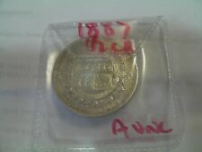 More details for half crowns     1887 victoria good choice coin a/unc
