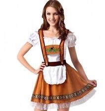 Ladies Octoberfest/Oktoberfest German Beer Festival Maid Costume Size 8-10