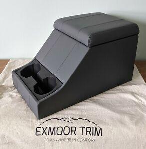 BRAND NEW Exmoor Trim Premium Leather Cubby Box - Land Rover Defender / Series