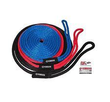 KWIK TEK Dock Line SBT-DLINE-20-RD Length 20 ft Red w/ Yamaha Logo Label