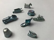 2008 Monolpy Game Pieces 8 Tokens Replacement Lot Hadbro Parker