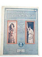 Sweet Hawaiian Moonlight J C Williamson Kissing Time Moncrieff & Maude Fane