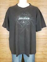 Nike Air Jordan Black Graphic T-Shirt Mens Size XL