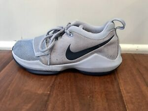 Nike PG 1 (PS) Athletic Sneakers Glacier Grey Boys Size 3