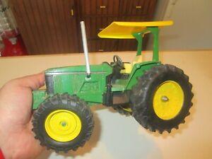 VINTAGE John Deere 6200 ERTL 1/16 Diecast Replica CUSTOM FARM TOY TRACTOR