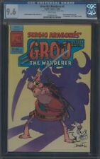 GROO THE WANDERER (1982) #1 CGC 9.6 NM+ WP REMARK AND SIGNATURE ON 1ST PAGE