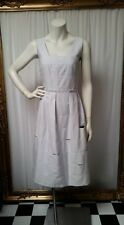 Veronika Maine grey sundress. Size 8
