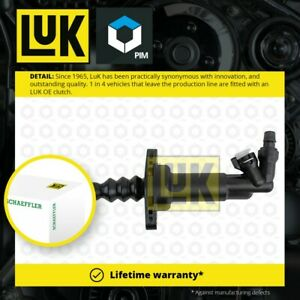 Clutch Slave Cylinder fits SEAT LEON 1M1 1.4 1.6 1.8 1.9D 99 to 06 LuK Quality