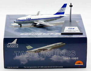 1:200 INF200 TAN Boeing 737-200 HR-TNR with stand
