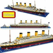 1860 pcs TITANIC Cruise Ship Building Bricks Blocks 3D Lego Model Kids Toys Gift