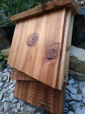 """Homemade Cedar Bat Box / Bat House, Double Chamber 18""""tall X 12""""wide X 4.5""""deep"""