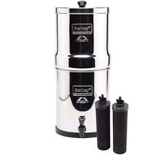Big Berkey Water Filter with 2 Black Filters FREE Shipping NEW