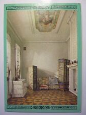 Vintage Russian Postcard Petrodvorets The Bedroom In The Monplaisir Palace