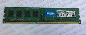 Memory/Ram crucial 4GBx1 DDR3-1600 CT51264BA160BJ.M8FN 1.5V CL11 DIMM 240pin