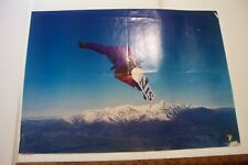 Vintage Original Sin Snowboard Magazine Fold-Out Poster Two Sided