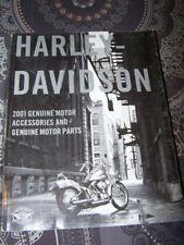 4A - Catalogue de pieces et accessoires Harley davidson 2001 Genuine Motor Parts