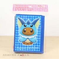 Pokemon Center Original Card Game Sleeve Eevee Poncho Series Vaporeon 64 sleeves