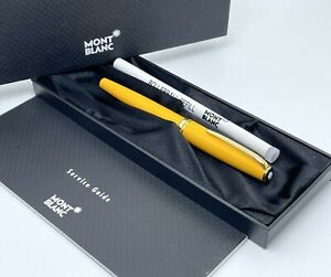 Vintage Montblanc Yellow Generation Gold Plated Rollerball Pen