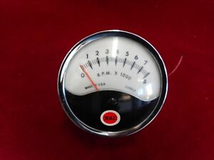 Vintage RAC Automotive Tachometer, Used Untested