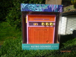 "NEW : SUNNY LIFE :"" RETRO SOUNDS "" AMPLIFIER * Am / Fm RADIO : Mp3 COMPATABLE"