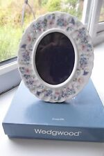 Wedgwood Angela Photograph Frame Boxed Bone China