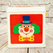 Vintage Mattel Children's Jack In The Box Clown Winding Toy 1987 Collectible