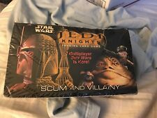Star Wars Jedi Knights TCG Scum And Villainy Limited Edition Booster Box Sealed