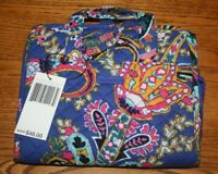 Vera Bradley ICONIC COMPACT HANGING ORGANIZER travel Romantic Paisley large New