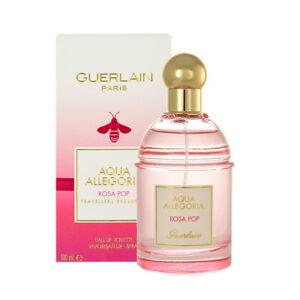 AQUA ALLEGORIA ROSA POP * Guerlain 3.3 oz /100 ml EDT Women Perfume Spray