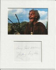 Geoffrey Bayldon catweazle signed genuine authentic autograph signature AFTAL