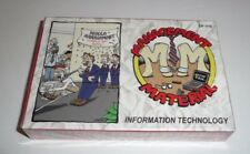 Management Material Card Game Information Technology It Office Work Fun Cubicle